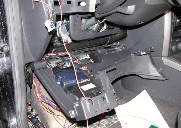 Подключение сигнализации к панели управления