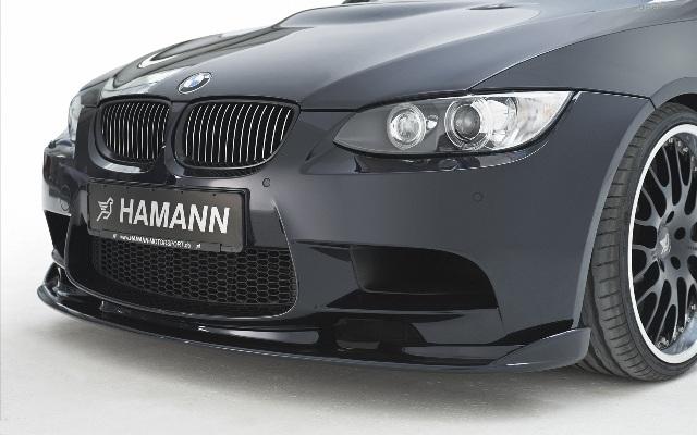 Передний вариант установки на BMW