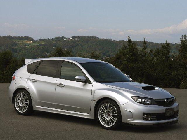 Купленная на аукционе Subaru Impreza