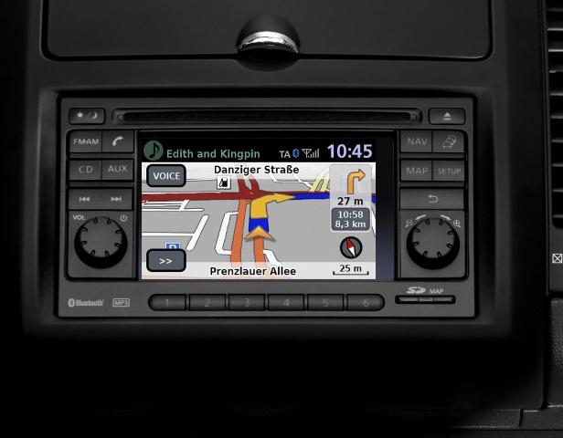 Система Ниссан Коннект предназначена для навигации и мультимедиа