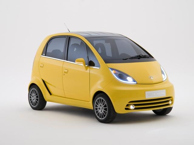 Самый дешевый в мире автомобиль Tata Nano
