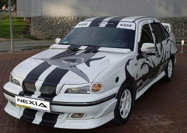 Тюнинг автомобиля Daewoo Nexia
