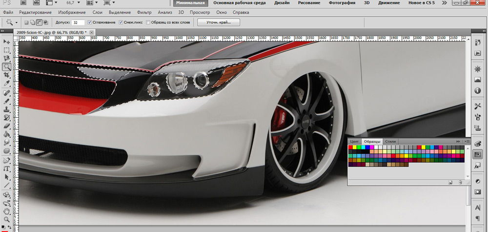 3D-тюнинг в Photoshop