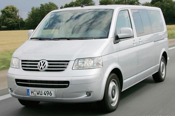 Автомобиль Volkswagen Multivan подходит для дальних поездок