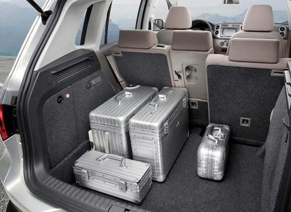 Багажное отделение Volkswagen Tiguan