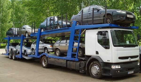 Ввоз автомобилей в страну на автоприцепе