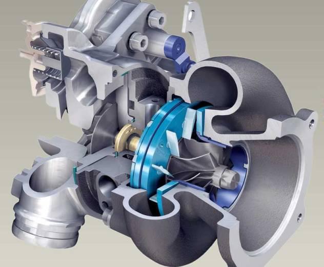 Для работы компрессора с турбиной необходимо моторное масло для охлаждения