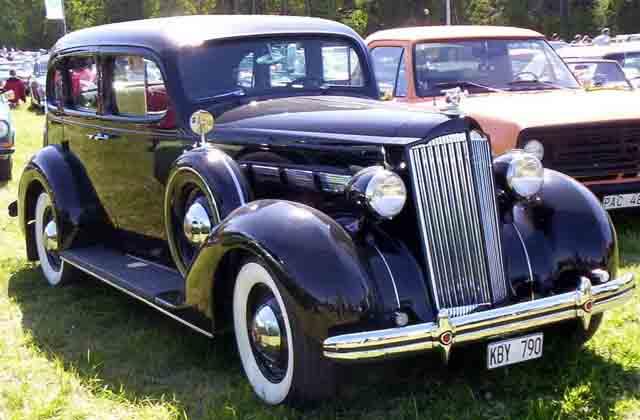 Внешний вид Packard 120