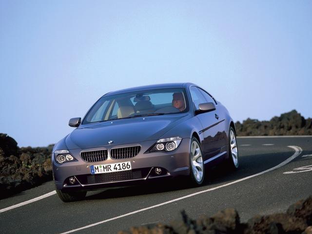 Известный мужской автомобиль BMW 6-й серии