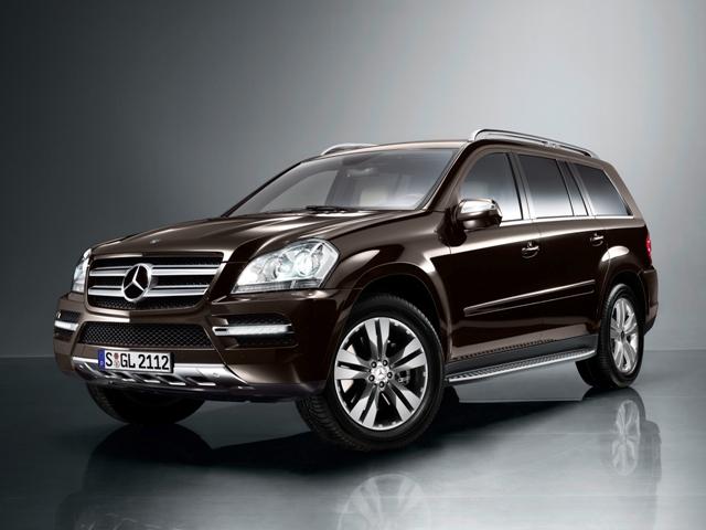 Немецкий внедорожник Mercedes-Benz GL-Class
