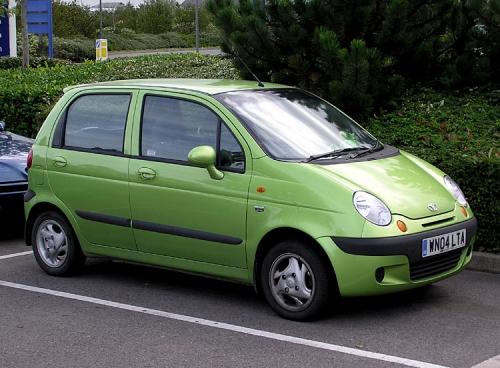 Стильный Daewoo Matiz