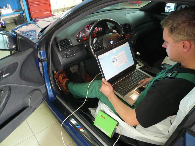 Диагностика систем автомобиля