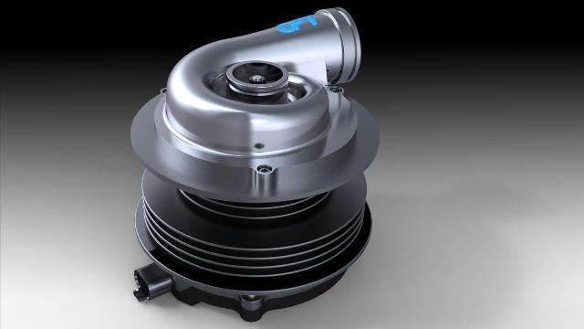 Электрический турбонагнетатель для двигателей