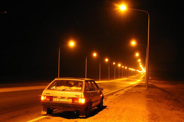 Хорошо освещённая дорога поможет вам быть более уверенным за рулём