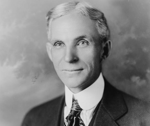 Великий американский промышленник и изобретатель Генри Форд