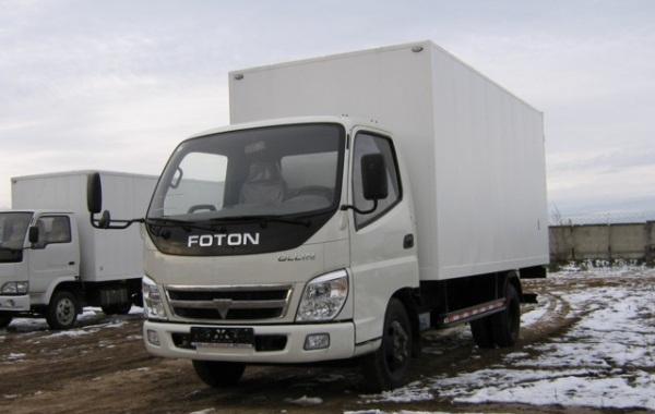 Foton Ollin BJ - грузовик, попадающие под категорию BE