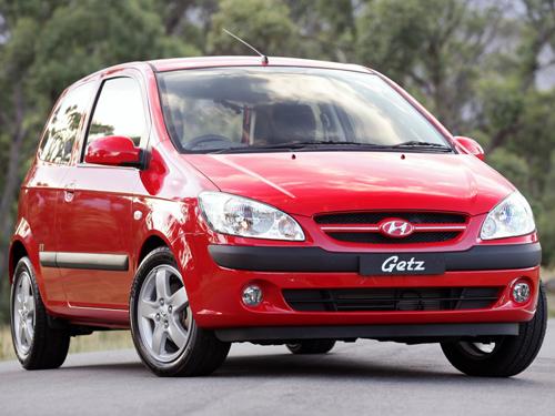 Внешний вид автомобиля Hyundai Getz