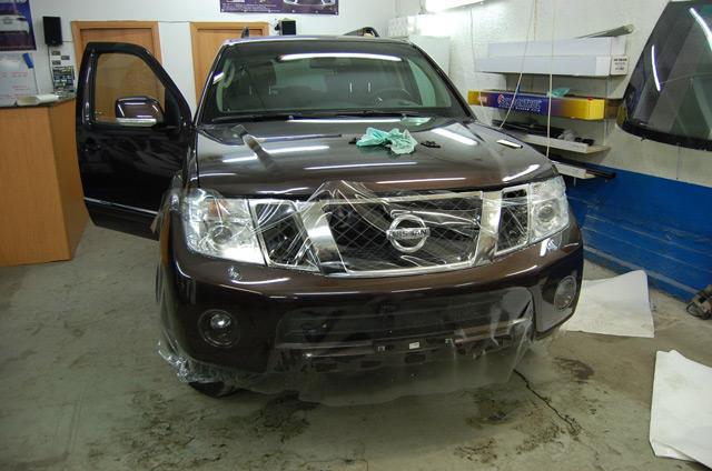 Защитная плёнка позволит уберечь кузов вашего авто от мелких повреждений