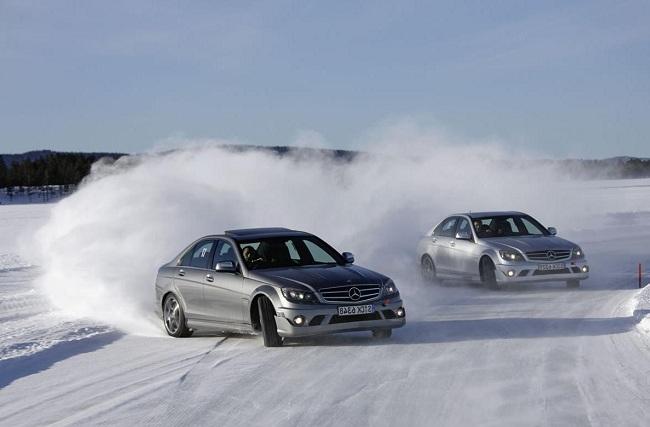 Экстремальное вождение в зимних условиях