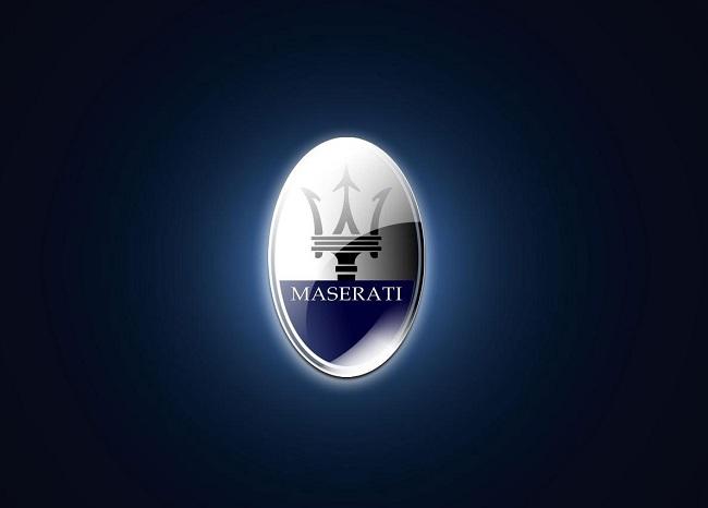 Эмблема марки Мазерати