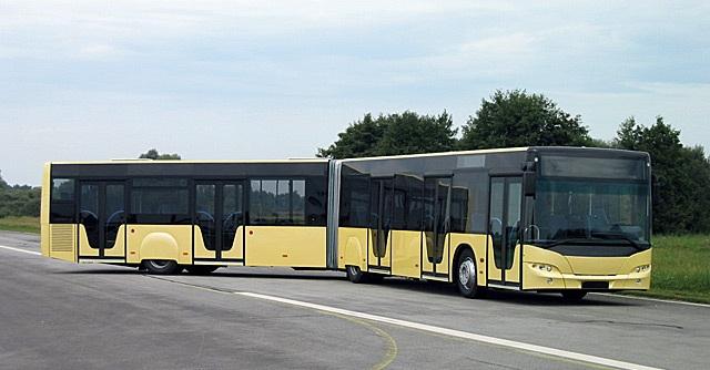 Автобус, подходящий под категорию DE