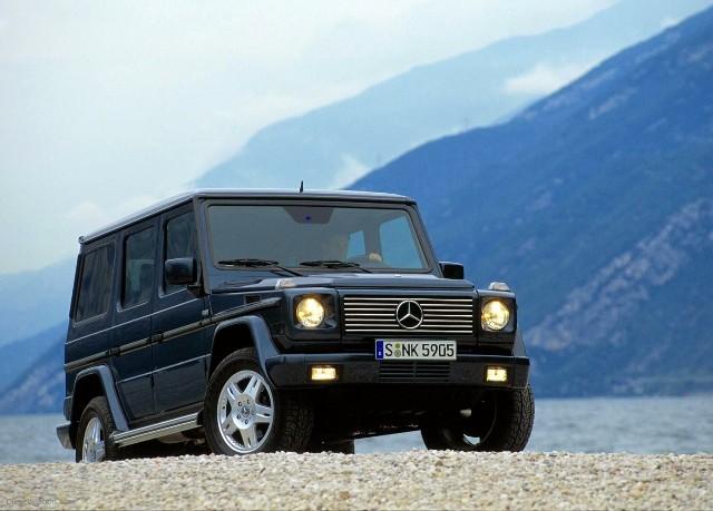 Mercedes-Benz G-Class — мужской внедорожник из Германии
