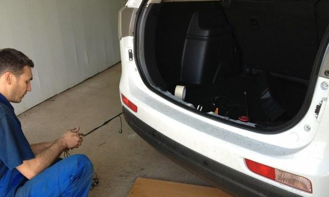 Процесс установки и монтаж парковочного устройства