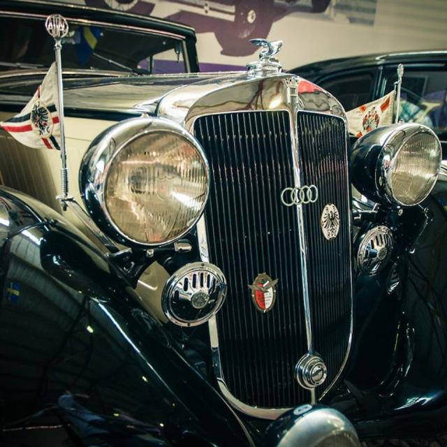 Ретроавтомобили в Рогожском музее