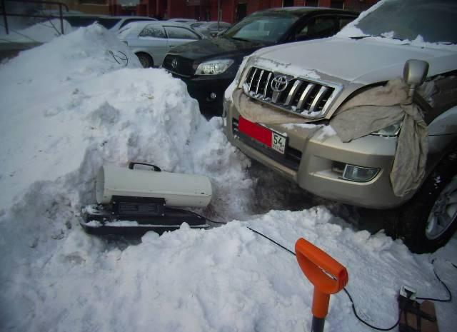 Зимой двигатель, как правило, труднее завести