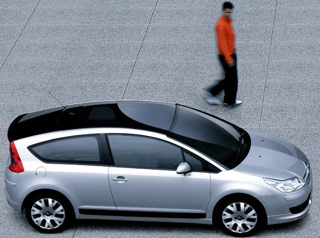 Панорамная крыша автомобиля Citroen C4
