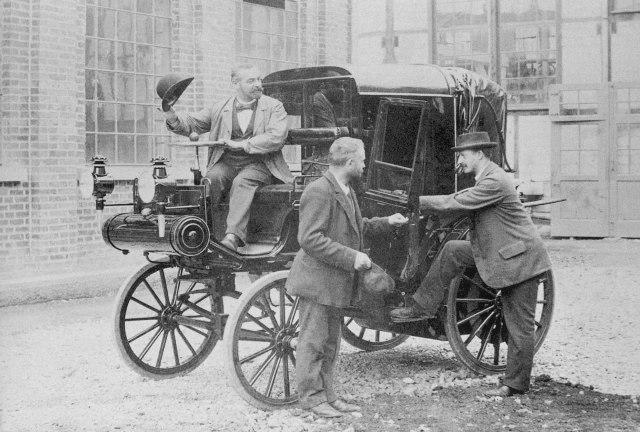Одно из первых в мире такси
