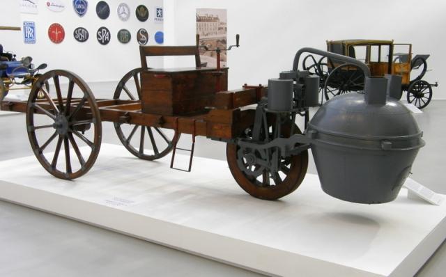 Тележка французского инженера Николя-Жозефа Кюньо