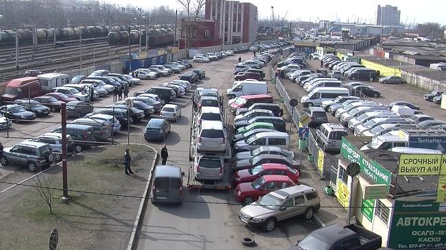 Автобарахолка в Питере