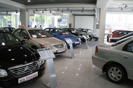 Продажа автомобиля через автосалон
