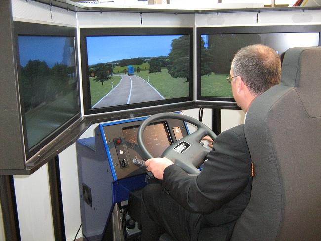Обучение вождению на симуляторе