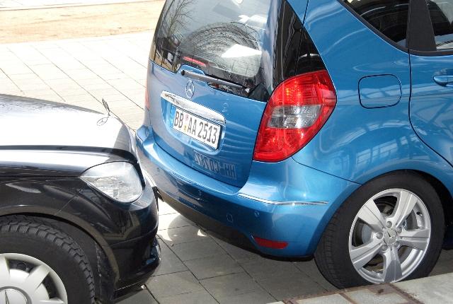Система парктроник позволяет предотвратить столкновение
