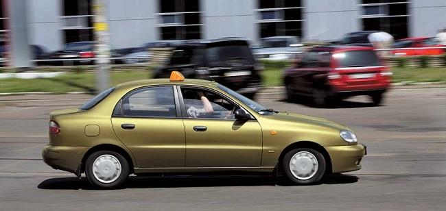 Такси Daewoo Lanos