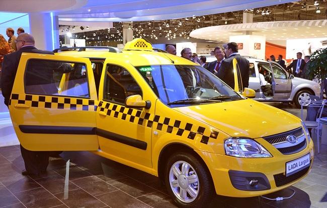 Такси Лада Ларгус