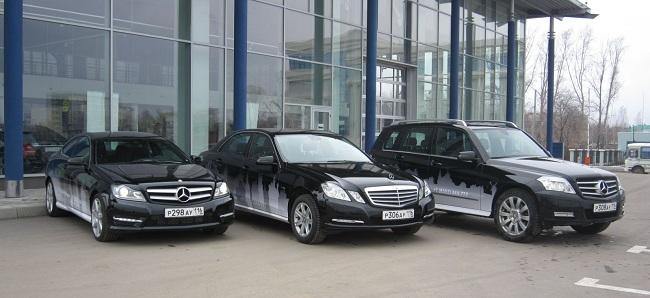 Автомобили Mercedes для тест-драйва