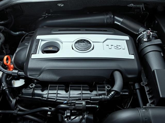 Двигатель TSI на автомобиле Шкода
