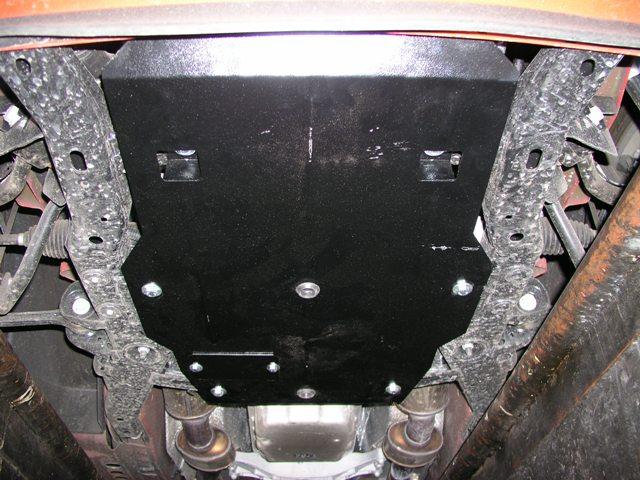 Защита двигателя также может быть утеплена
