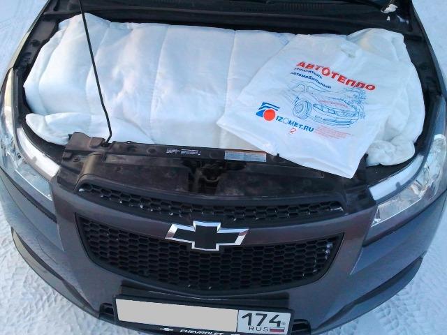 Пример утепления двигателя автомобиля