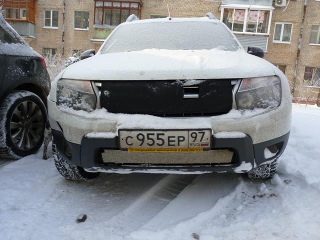 Комплексно утеплённый автомобиль