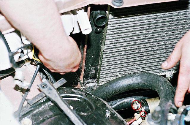Замена автомобильного радиатора