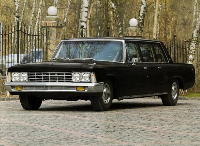 Советский лимузин — ЗИЛ-114