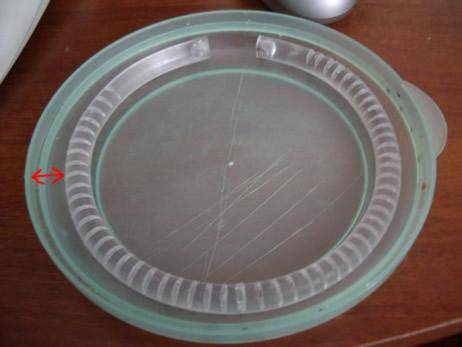 Придание формы заготовке с помощью тарелки