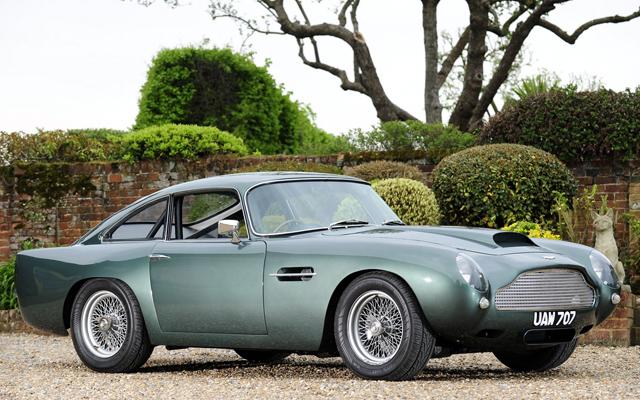Автомобиль Aston Martin DB4 1957 г. в.
