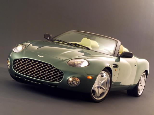 На фото автомобиль Aston Martin Zagato DB AR1