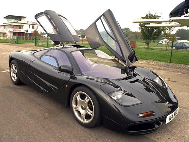 Самодельный автомобиль McLaren F1