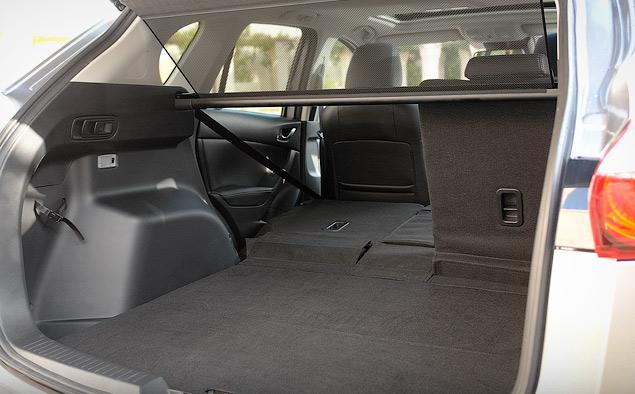 Складывающиеся сидения в Mazda CX-5